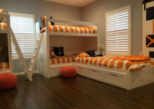 pleated shades for kids room